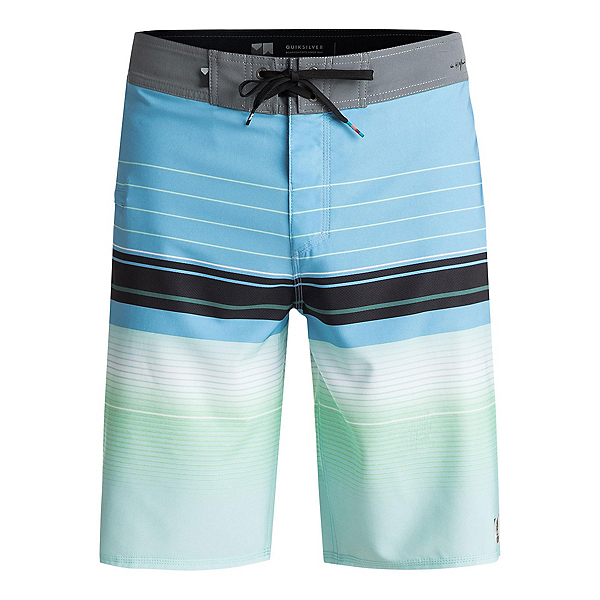 Quiksilver Highline Swell Vision Mens Board Shorts, Bonnie Blue, 600