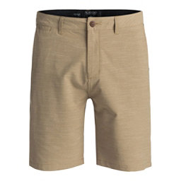 Quiksilver Union Slub Amphibian Mens Hybrid Shorts, Elmwood, 256