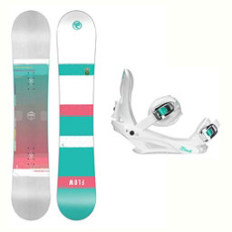 Flow Venus Layla Womens Snowboard and Binding Package 2018, , 256