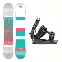 Flow Venus Haylo Womens Snowboard and Binding Package 2018, , 256