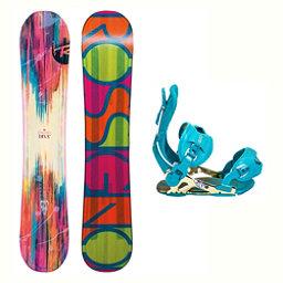 Rossignol Diva MagTek B-Free Womens Snowboard and Binding Package 2018, , 256