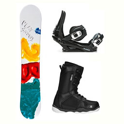 2B1 Play Green ST-1 Complete Snowboard Package 2018, , 256