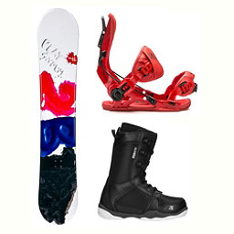 2B1 Play Black ST-1 2 Complete Snowboard Package 2018, , 256