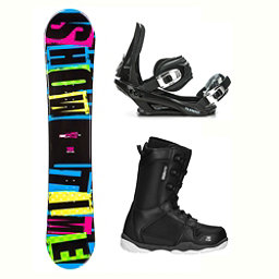 2B1 Showtime Blue ST-1 Complete Snowboard Package 2018, , 256