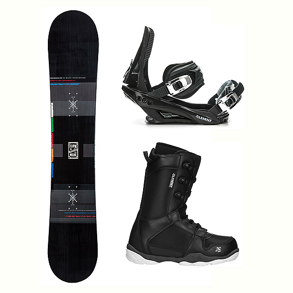Flow Merc ST-1 Complete Snowboard Package, , 600