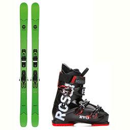 Rossignol Smash 7 Evo 70 Ski Package 2018, , 256