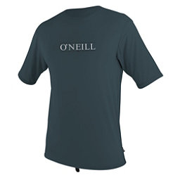 O'Neill Skins Short Sleeve Sun Shirt Mens Rash Guard, Slate, 256