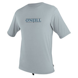 O'Neill Skins Short Sleeve Sun Shirt Mens Rash Guard, Cool Grey, 256