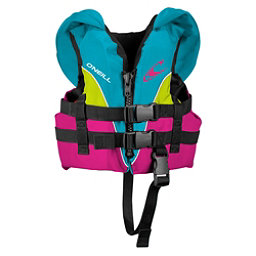 O'Neill Infant Superlite Infant Life Vest 2018, Turquoise-Berry-Lime, 256