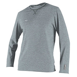 O'Neill Hybrid Long Sleeve Surf Tee Mens Rash Guard, Cool Grey, 256