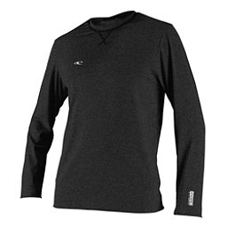 O'Neill Hybrid Long Sleeve Surf Tee Mens Rash Guard, Black, 256