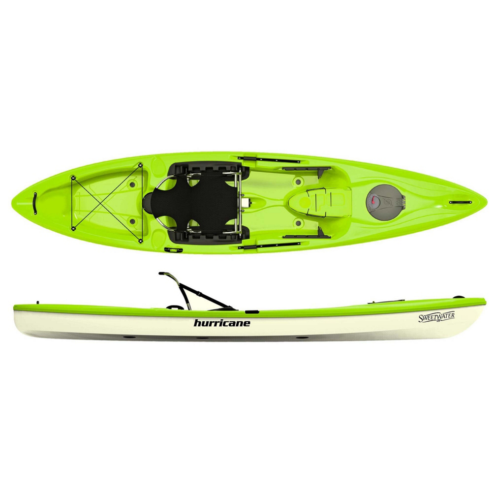 Hurricane Sweetwater 126 Sit On Top Kayak im test