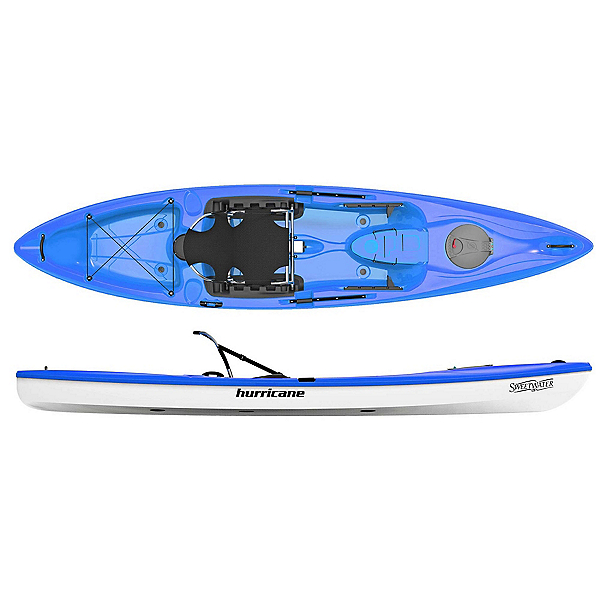 Hurricane Sweetwater 126 Sit On Top Kayak 2019, Blue, 600