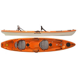 Hurricane Skimmer 140 Tandem Kayak 2018, Mango, 256
