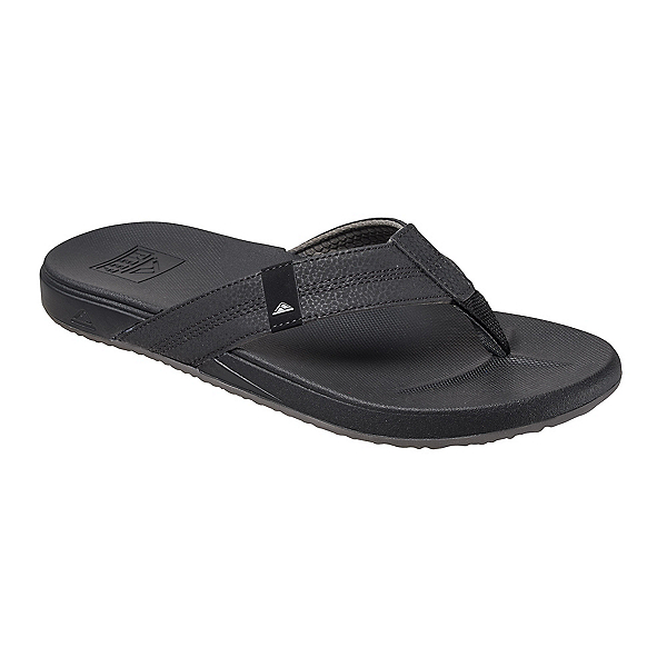Reef Cushion Bounce Phantom Mens Flip Flops, Black, 600