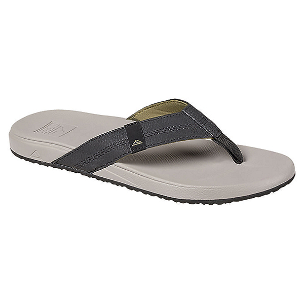 Reef Cushion Bounce Phantom Mens Flip Flops, Light Grey, 600