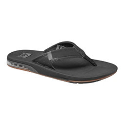 Reef Fanning 2.0 Mens Flip Flops, Black, 256
