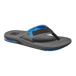 Reef Fanning 2.0 Mens Flip Flops, Grey-Blue, 256