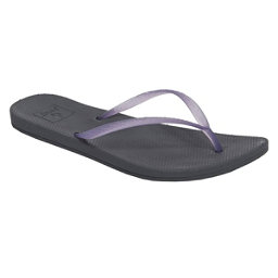 Reef Escape Lux Womens Flip Flops, Purple-Slate, 256