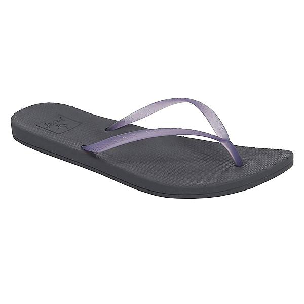 Reef Escape Lux Womens Flip Flops, Purple-Slate, 600