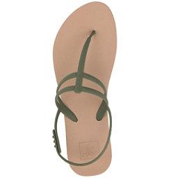 Reef Escape Lux T Womens Flip Flops, Olive, 256