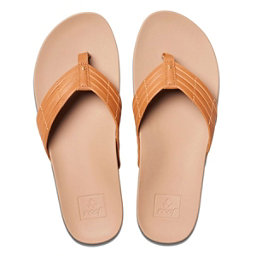 Reef Cushion Bounce Sunny Womens Flip Flops, Tobacco, 256