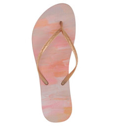 Reef Escape Lux Paint Womens Flip Flops, Rose Paint, 256