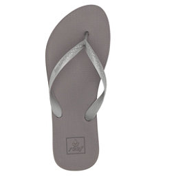 Reef Escape Lux + Womens Flip Flops, Silver, 256