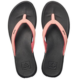 Reef Rover Catch Pop Womens Flip Flops, Bright Coral, 256