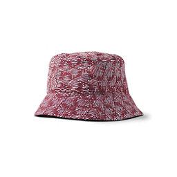 Prana Seashells Bucket Womens Hat, Pomegranate Seashells, 256