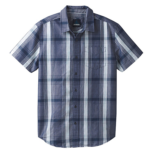 Prana Tamrack Mens Shirt, Equinox Blue, 600