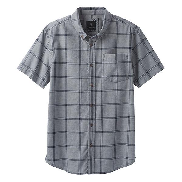 Prana Broderick Window Pane Mens Shirt 2018, , 600