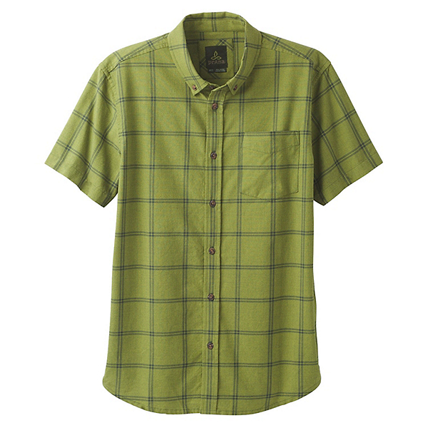 Prana Broderick Window Pane Mens Shirt, , 600