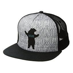 Prana Journeyman Trucker Hat, Charcoal Bear Hug, 256