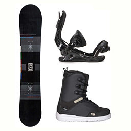 Flow Merc Supra Two Complete Snowboard Package, , 256