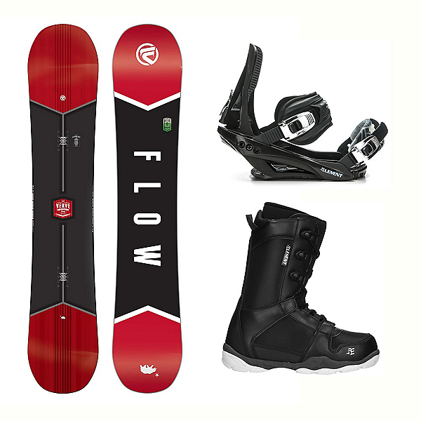 Flow Verve ST-1 Complete Snowboard Package, , 600