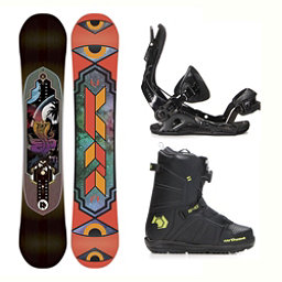 K2 Fastplant Hover Spin Complete Snowboard Package 2018, , 256