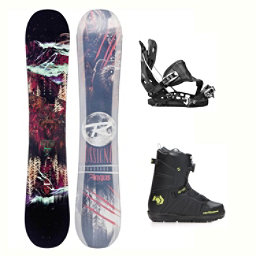 Rossignol Angus MagTek Hover Spin Complete Snowboard Package 2018, , 256
