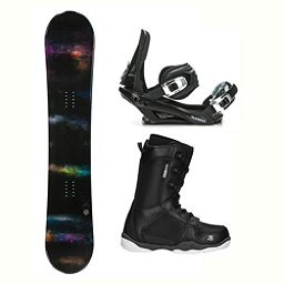 SLQ Domain ST-1 Complete Snowboard Package 2018, , 256