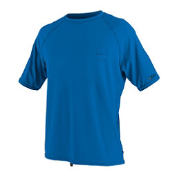 O'Neill 24-7 Traveler Short Sleeve Sun Shirt Mens Rash Guard, Ocean, 256