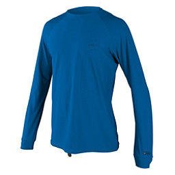 O'Neill 24-7 Traveler Long Sleeve Sun Shirt Mens Rash Guard, Ocean-Ocean, 256