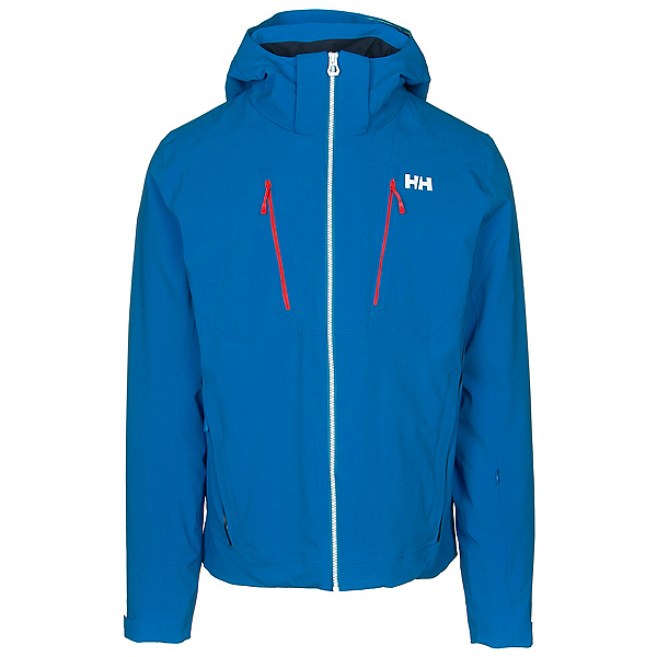 Helly Hansen Alpha 3.0 Mens Insulated Ski Jacket, Electric Blue, 600