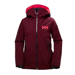 Helly Hansen Louise Womens Insulated Ski Jacket, Port, 256