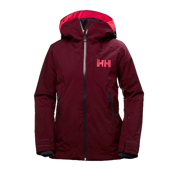 Helly Hansen Louise Womens Insulated Ski Jacket, Port, 600