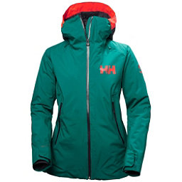 Helly Hansen Louise Womens Insulated Ski Jacket, Everglade, 256