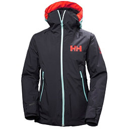 Helly Hansen Louise Womens Insulated Ski Jacket, Graphite Blue, 256