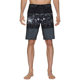 O'Neill Hyperfreak Mens Board Shorts, Black, 256