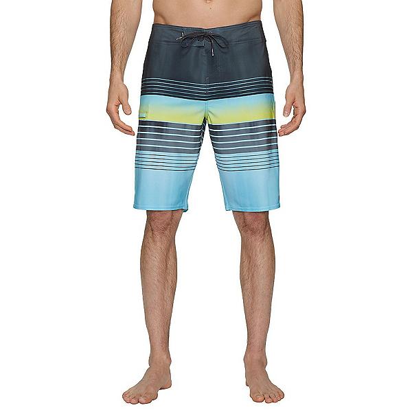 O'Neill Hyperfreak Heist Mens Board Shorts, Ocean, 600
