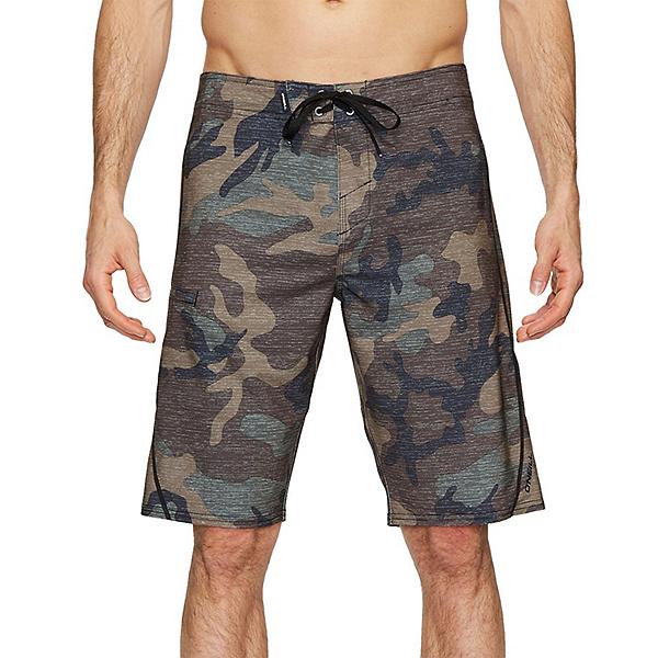O'Neill Hyperfreak S-Seam Mens Board Shorts, Camo, 600
