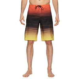 O'Neill Superfreak Mysto Mens Board Shorts, Orange, 256